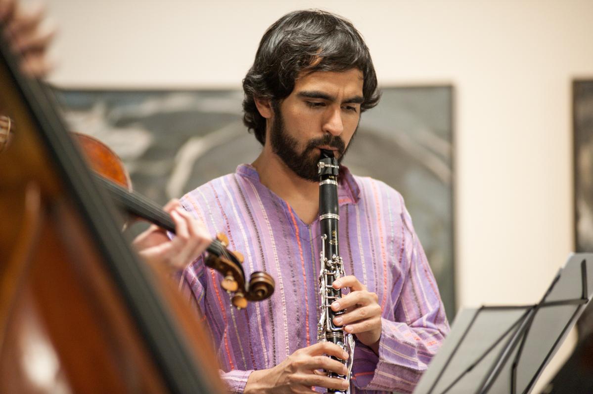 Dan Gonzalez, clarinet